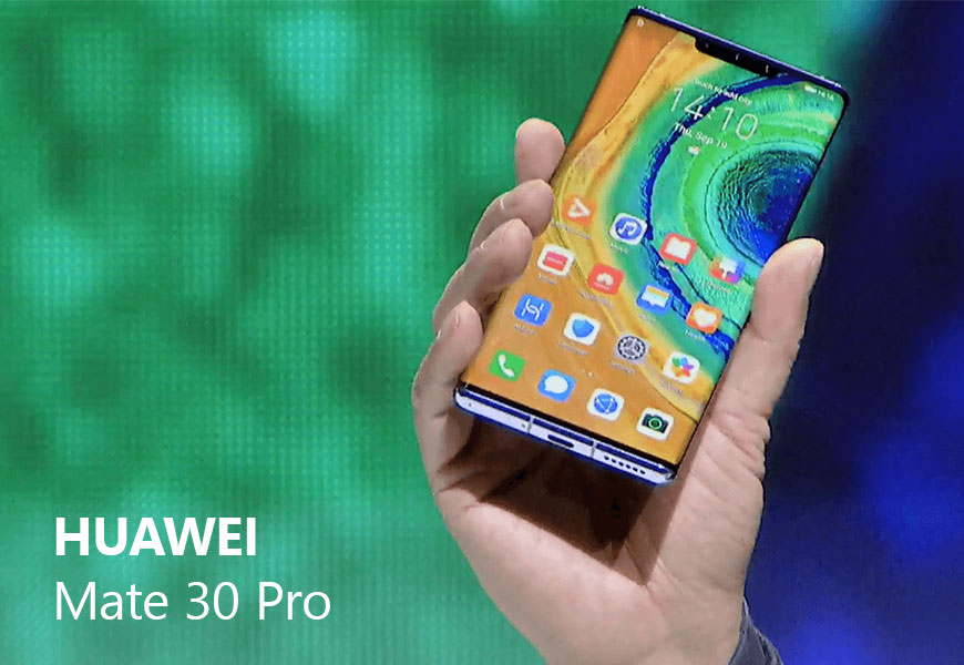 Smartphone Huawei Mate 30 Pro: Kirin 990 processor with 5G, without Google Play